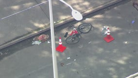 Bicyclist struck, critically injured by hit-and-run driver in the Bronx