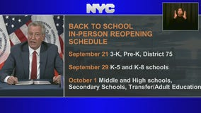 De Blasio delays reopening of NYC public schools, again