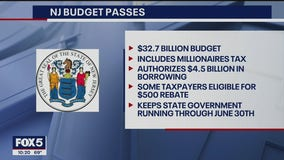 NJ passes budget, hiking taxes on rich, OK'ing borrowing