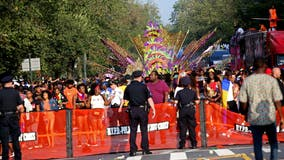 West Indian Day festivities go virtual, but police remain