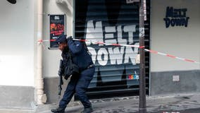 2 wounded in knife attack in Paris; suspect arrested