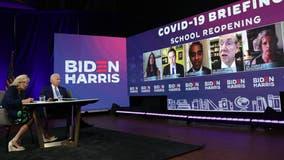 'We need straightforward, common-sense solutions': Biden speaks on schools amid COVID-19 pandemic