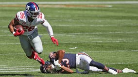 NY Giants Saquon Barkley out for season with torn ACL
