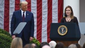 Trump vows quick court vote, Biden urges delay for Nov. 3