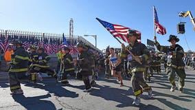 Pandemic shrinks annual run honoring fallen firefighter