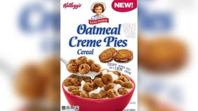 Little Debbie and Kellogg's launch Oatmeal Creme Pie breakfast cereal