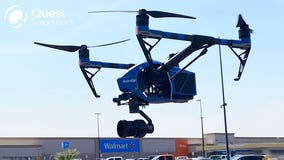 Walmart to use drones in NY to deliver at-home COVID test kits