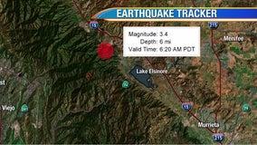 Preliminary 3.4-magnitude quake strikes near Lake Elsinore