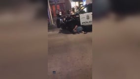 Man charged after Minneapolis officer hit by trash can lid during downtown unrest
