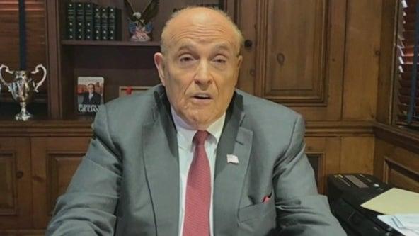 Rudy Giuliani accuses Bill de Blasio of 'destroying' his city