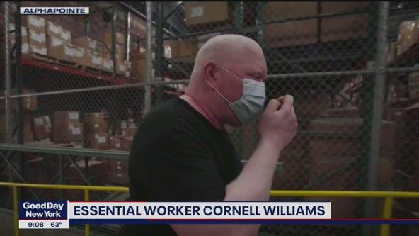 Blind worker survives coronavirus