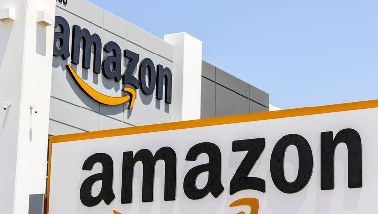 A file image shows an Amazon facility.(Getty Images)