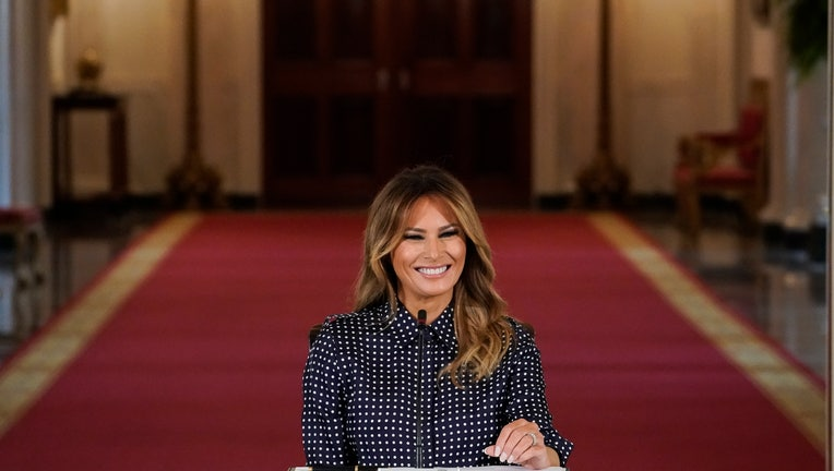 First Lady Melania Trump Marks Recovery Month At The White House