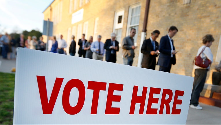 Voters line up to cast their ballots. (File)