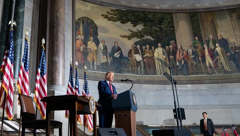 Trump spricht zum Patriotenprojekt