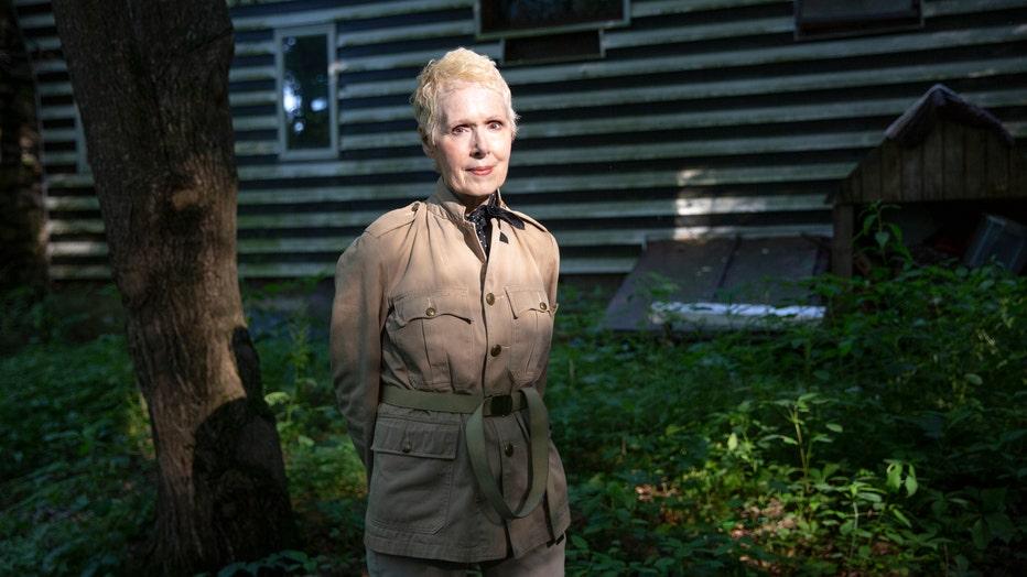 WARWICK, NEW YORK - JUNE 21,2019: E. Jean Carroll at her home i