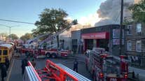 Firefighters Injured in 5-Alarm Blaze at Brooklyn Auto Shop