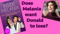 Melania Trump endorses blue?