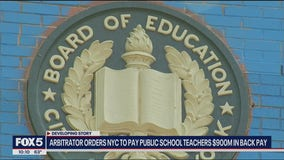 NYC ordered to pay teachers $900M in back pay