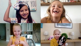 Young cancer survivors known as 'tutu girls' reunite