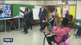 NYC public school students return to in-person learning