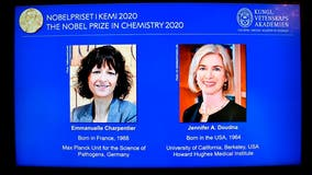 Nobel Prize for chemistry awarded to American, French women