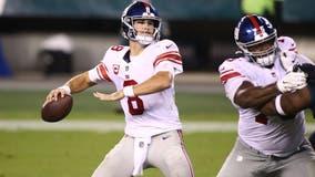 Giants' Jones regrets taking mask off in NYC bar