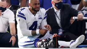 Dak Prescott leaves Giants-Cowboys game with ankle injury, will undergo surgery
