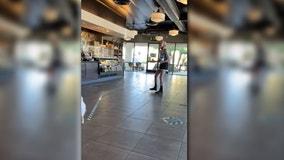 Starbucks praises Black barista's response to mask-eschewing customer who yelled 'f--- Black Lives Matter'