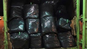Man tries to smuggle 1,000 pounds of pot in trash truck