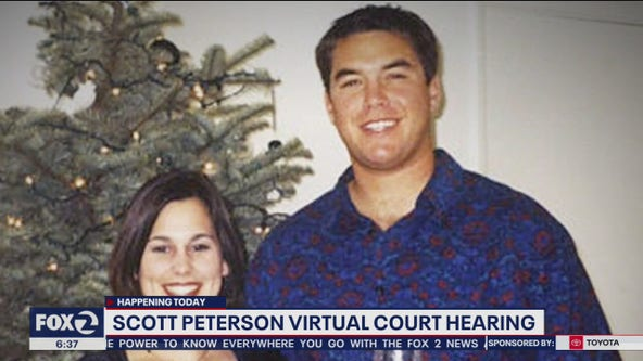 Convicted murderer Scott Peterson's case to be heard in virtual hearing in California courtroom