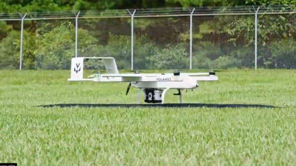 Drug company using drones to deliver medicines