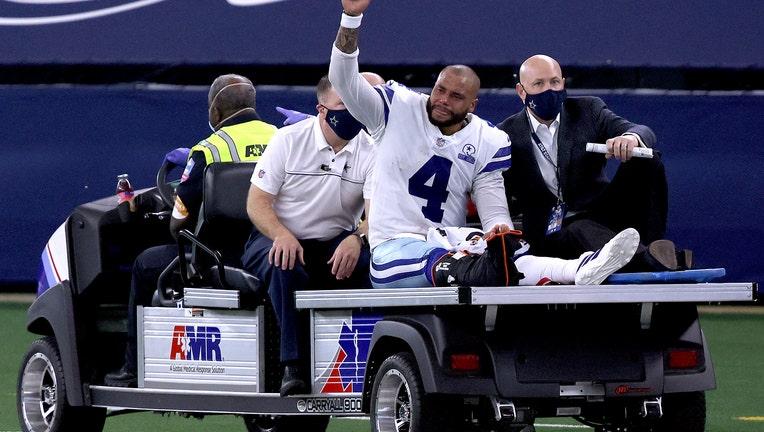 Dak Prescott Dallas Cowboys injry