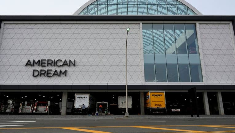 A view of the American Dream mega mall.