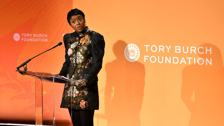 Mellody Hobson, Co-CEO & President, Ariel Investments speaks onstage during the 2020 Embrace Ambition Summit