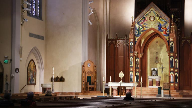 FILE - St. Agnes Cathedral of the Catholic Diocese of Rockville Centre