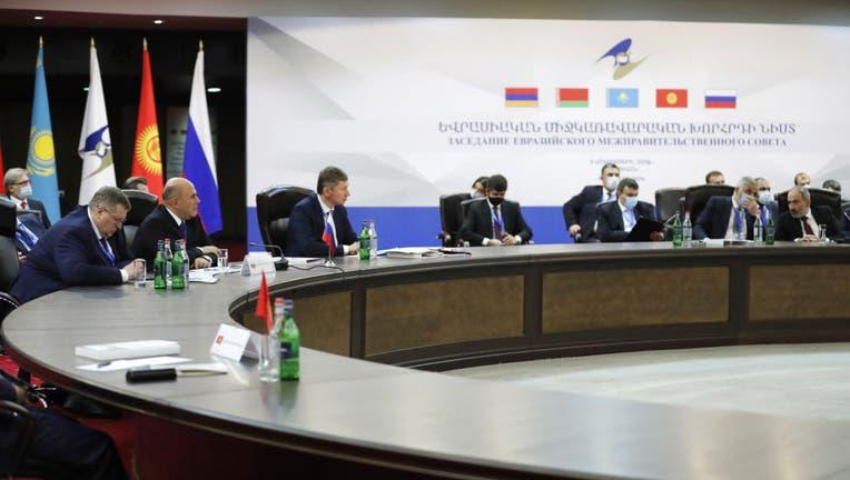 292a0f45-Meeting of Eurasian Economic Union Intergovernmental Council in Yerevan, Armenia