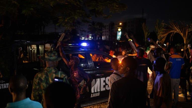 TOPSHOT-NIGERIA-UNREST