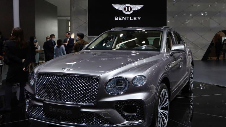 A Bentley Bentayga SUV.