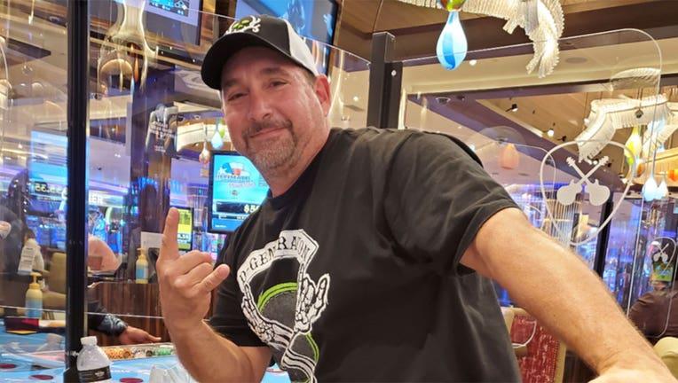 A New Jersey man won a $1.3 million jackpot in Atlantic City.