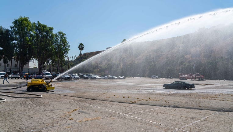 The Los Angeles Fire Department has rolled out its newest firefighter. (LAFD)