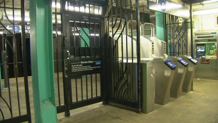 Elderly woman pushed onto subway tracks in Brooklyn