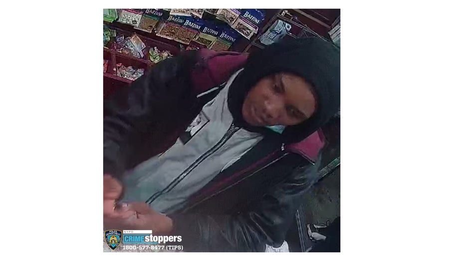 The NYPD says it wants to find three murder suspects seen on security camera video sanitizing their hands inside a deli before killing a 26-year-old man in the East Village.