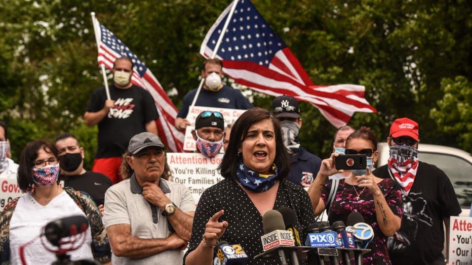 Nicole Malliotakis, New York State Assembly woman.