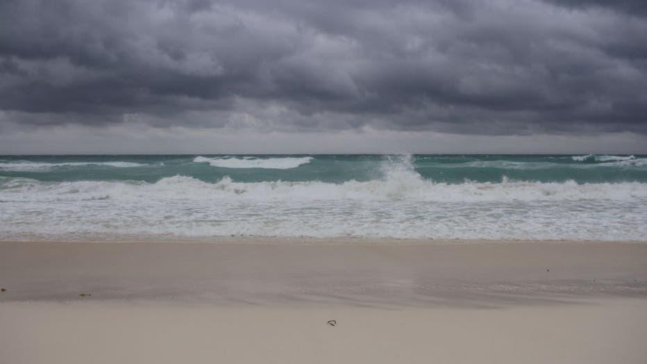Hurricane Delta Threatens Mexican Caribbean Coast