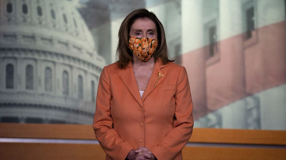 Speaker Pelosi Briefs Media In Weekly News Conference
