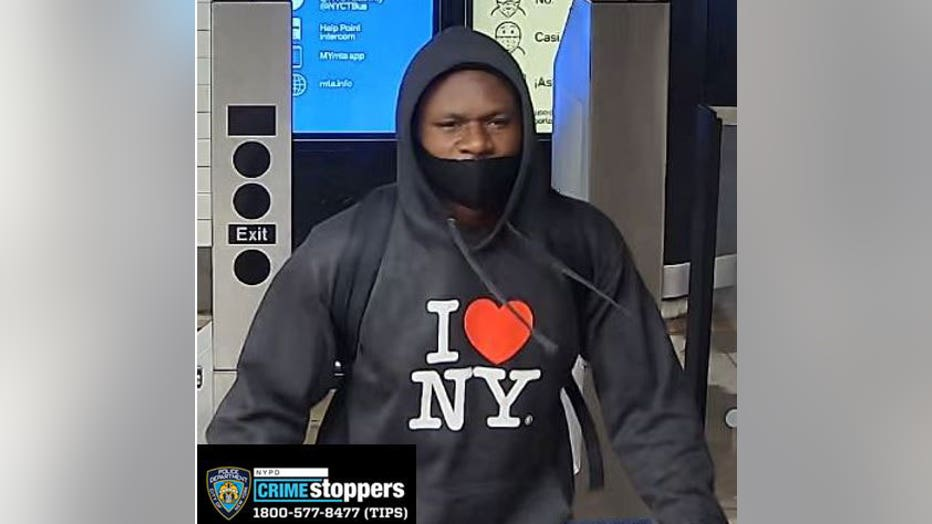 The NYPD released a photo of the suspect.