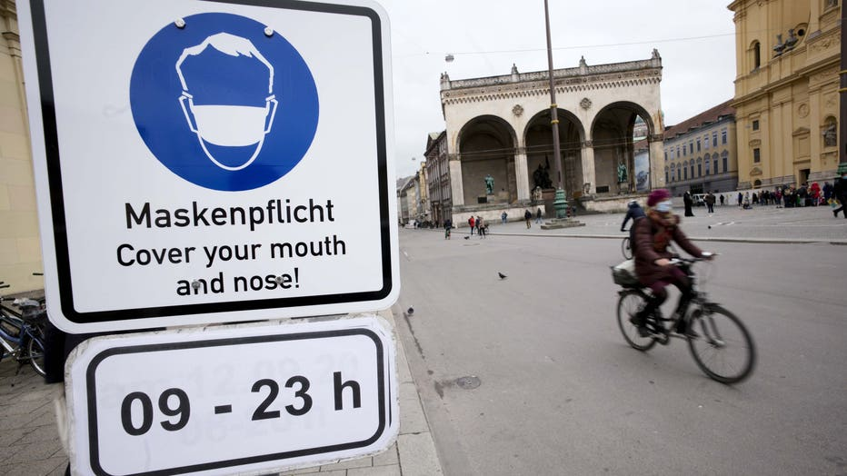Coronavirus - Munich - Masks required