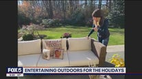 How to host holidays outdoors