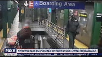 Subway push arrest